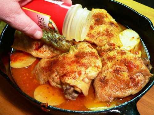 Рецепты куриных голеней с картошкой в духовке,