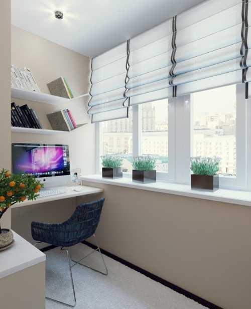 Делаем лоджию полноценной частью квартиры