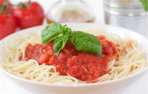 Рецепты томатного соуса для спагетти: секреты
