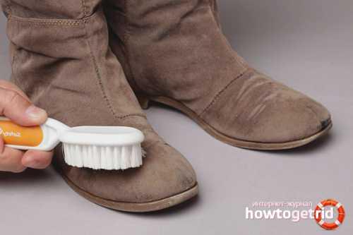 Как уберечь обувь от солевых разводов