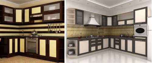 Кухонная мебель с фасадами из пластика: быть или не быть