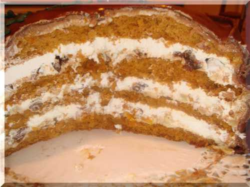 Рецепты  торта с курагой и черносливом, секреты