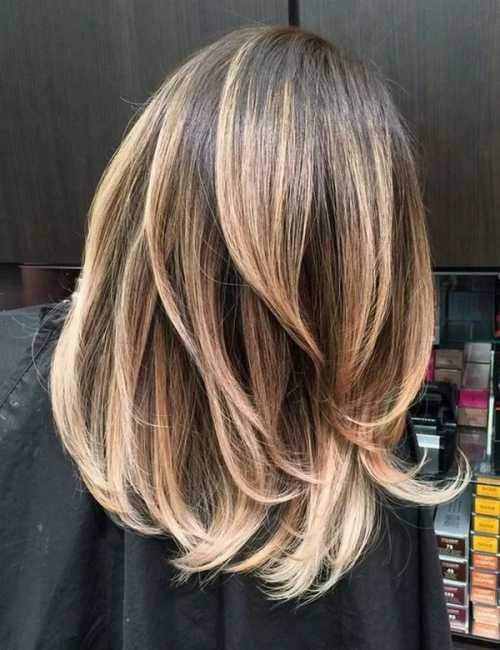 Модное окрашивание волос 2018: все цвета радуги